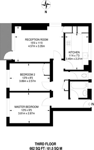 Large floorplan for Aldrington Road, Streatham Park, SW16