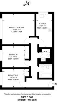 Large floorplan for Southwick Street, Hyde Park Estate, W2