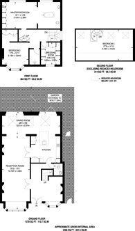 Large floorplan for Dukes Avenue, Finchley Central, N3