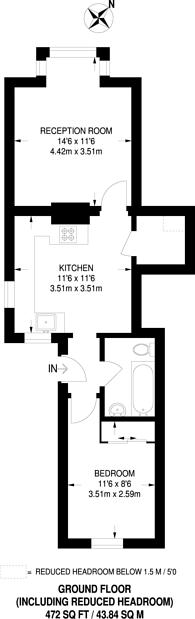 Large floorplan for Kings Road, Haslemere, GU27