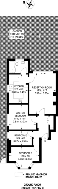 Large floorplan for Station Road, Harrow, HA1