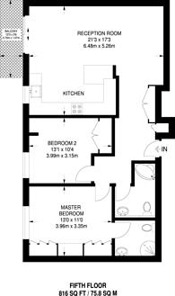 Large floorplan for St Johns Wood Park, St John's Wood, NW8