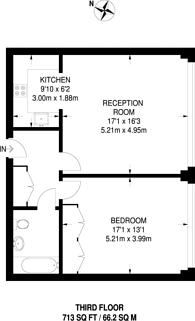 Large floorplan for Grange Road, Bermondsey, SE1