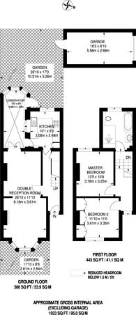 Large floorplan for Thurstan Road, Wimbledon, SW20