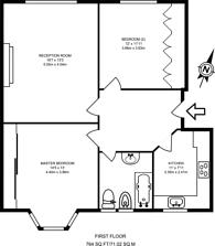 Large floorplan for Bushey Road, Raynes Park, SW20