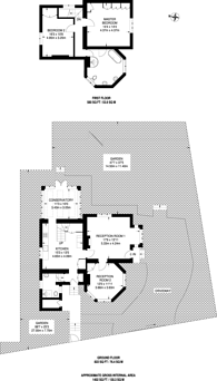 Large floorplan for Abbotsbury Road, Holland Park, W14