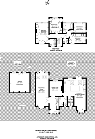 Large floorplan for The Fairway, Ruislip, HA4