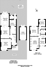 Large floorplan for The Chase, Norbury, SW16