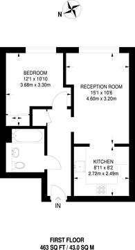 Large floorplan for High Street, Stratford, E15