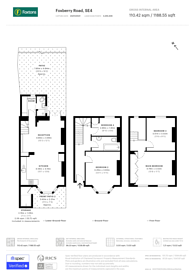 Large floorplan for Foxberry Road, Brockley, SE4