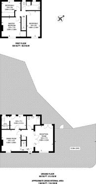 Large floorplan for Bonville Road, Bromley, BR1