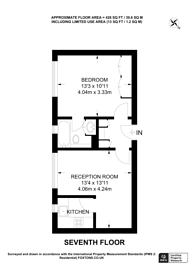 Large floorplan for Sloane Avenue, Chelsea, SW3