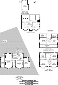 Large floorplan for Church Road, Highgate, N6