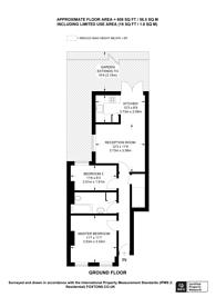 Large floorplan for Crimsworth Road, Vauxhall, SW8