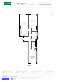 Large floorplan for New Century House, Canning Town, E16