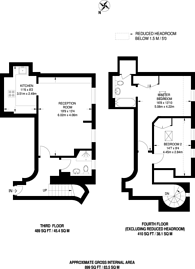 Large floorplan for Spring Gardens, Covent Garden, SW1A