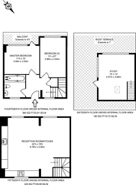 Large floorplan for Claredale Street, Bethnal Green, E2