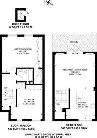 Large floorplan for Belgrave Road, Pimlico, SW1V