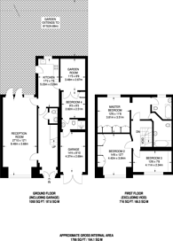 Large floorplan for Greenway, North Finchley, N20