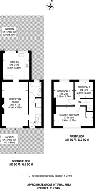 Large floorplan for Reigate Road, Bromley, BR1