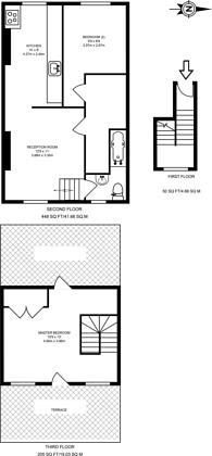 Large floorplan for Caledonian Road, Caledonian Road, N1