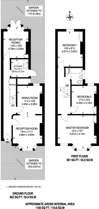 Large floorplan for Boleyn Road, Forest Gate, E7