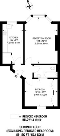 Large floorplan for St Quintin Avenue, Kensington, W10