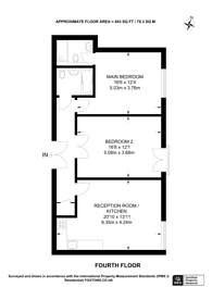 Large floorplan for Boundary Street, Shoreditch, E2