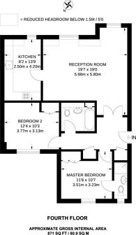 Large floorplan for Maddox Street, Mayfair, W1S