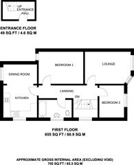 Large floorplan for Windsor Road, High Barnet, EN5