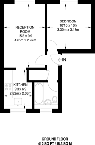 Large floorplan for Glyn Avenue, New Barnet, EN4