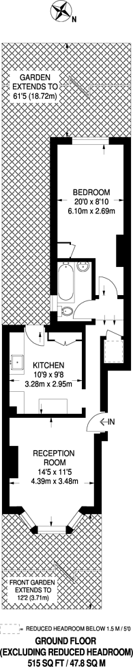 Large floorplan for Ash Road, Maryland, E15