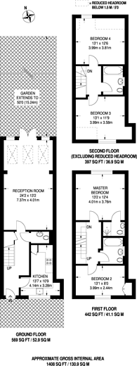 Large floorplan for Mill Hill, Mill Hill, NW7