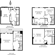 Large floorplan for Child's Mews, Earls Court, SW5