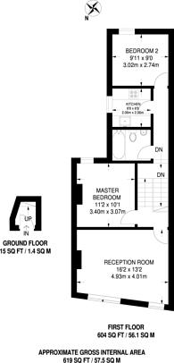 Large floorplan for Lea Bridge Road, Leyton, E10