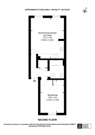 Large floorplan for Bellmaker Court, Bow, E3