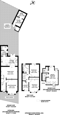 Large floorplan for The Ridgeway, Gunnersbury Triangle, W3