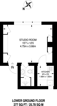 Large floorplan for West Eaton Place, Belgravia, SW1X