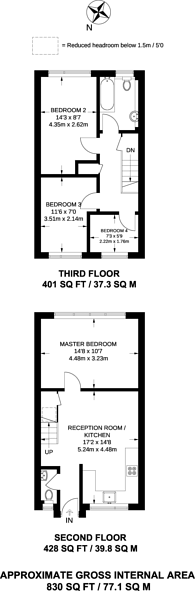 Large floorplan for Gawsworth Close, Stratford, E15