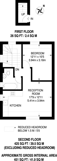 Large floorplan for Selhurst New Road, Selhurst, SE25