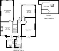 Large floorplan for Glenluce Road, Blackheath, SE3