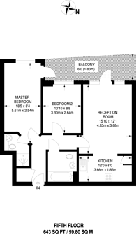 Large floorplan for Stanley Road, South Harrow, HA2