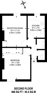 Large floorplan for Chatsworth Road, Willesden Green, NW2
