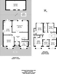 Large floorplan for Parklands Drive, Finchley, N3
