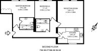 Large floorplan for Corringway, Golders Green, NW11