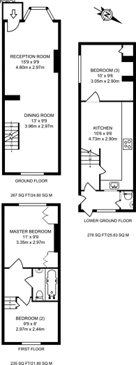 Large floorplan for Addison Road, Guildford, GU1