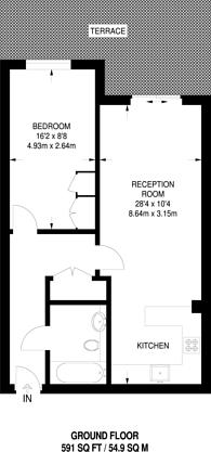 Large floorplan for Chelsea Creek, Chelsea Creek, SW6