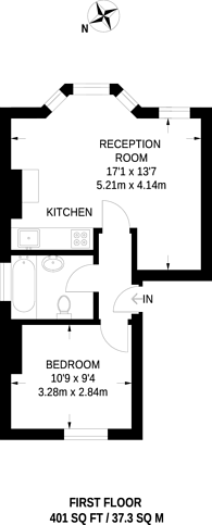 Large floorplan for Birkbeck Road, Acton, W3