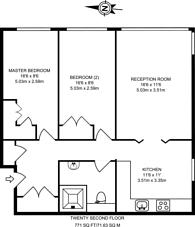 Large floorplan for Green Dragon Lane, Brentford, TW8