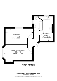 Large floorplan for Mount View Road, Stroud Green, N4